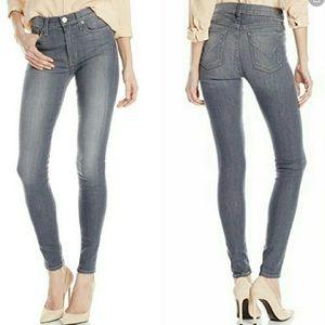 Hudson Barbara Gray Hi Rise Skinny Ankle Jean 29
